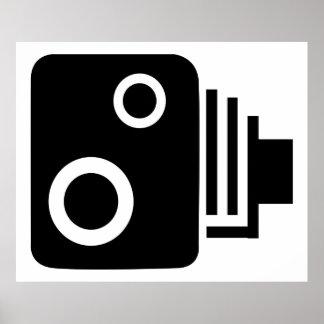 速度のカメラポスター ポスター