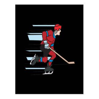 速度のスケート選手 ポストカード