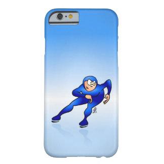 速度のスケート選手 BARELY THERE iPhone 6 ケース