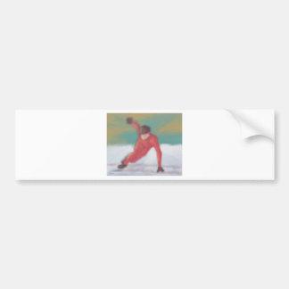 速度のスケート バンパーステッカー