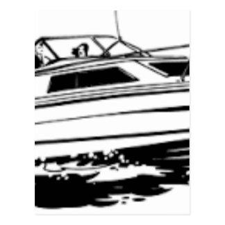 速度のボートの巡洋艦 ポストカード
