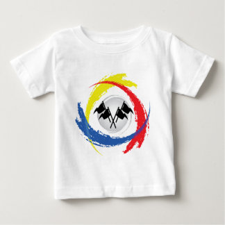 速度の三色の紋章 ベビーTシャツ