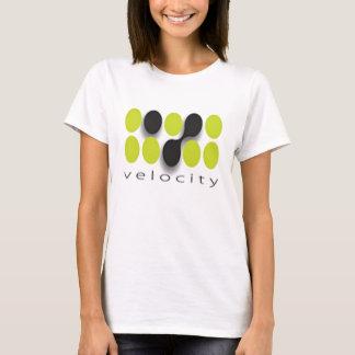 速度の女性 Tシャツ