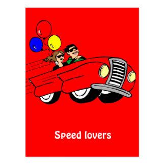 速度の恋人 ポストカード