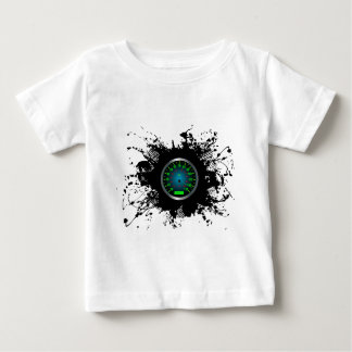 速度の紋章の都市スタイル5 ベビーTシャツ