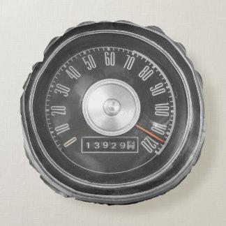 速度クラシックな車の速度計の枕のための必要性 ラウンドクッション
