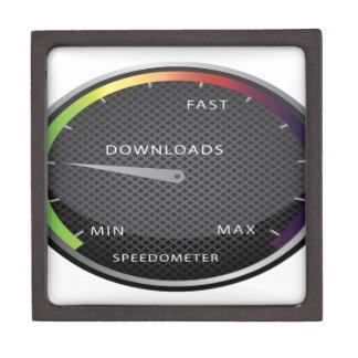 速度計のグラフィック・デザイン ギフトボックス