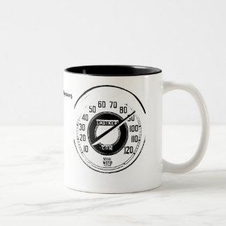 速度計のマグ ツートーンマグカップ