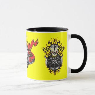 速度鬼の競争 マグカップ