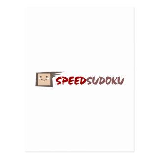 速度Sudoku ポストカード