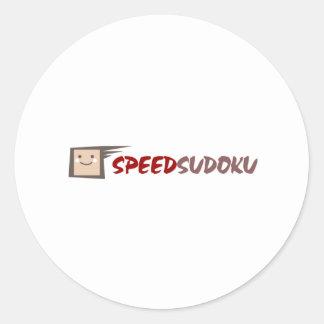 速度Sudoku ラウンドシール