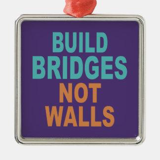 """""""造りない壁""""のオーナメント繋ぎます メタルオーナメント"""