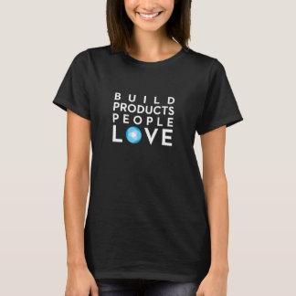 造りプロダクト人々愛 Tシャツ
