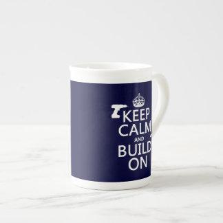 造りon.pngKeepの平静および造り(あらゆる背景 ボーンチャイナカップ