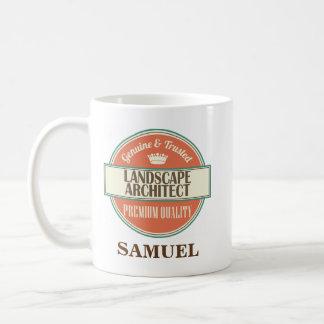 造園家の名前入りなオフィスのマグのギフト コーヒーマグカップ