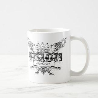 連合ビクトリアンなデザイン コーヒーマグカップ
