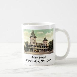 連合ホテル、ケンブリッジのNY 1907のマグ コーヒーマグカップ