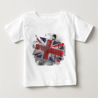 連合人ジャッキ ベビーTシャツ