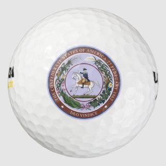 連合体のシール ゴルフボール