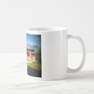 連合場所-アルバニー、ジョージア コーヒーマグカップ