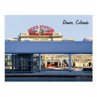 連合場所、デンバー、COのモダンな一見を用いる栄光! #1 ポストカード