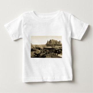 連合場所、Durand、ミシガン州 ベビーTシャツ