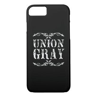 連合灰色の黒いヴィンテージのiPhone 7の箱 iPhone 8/7ケース