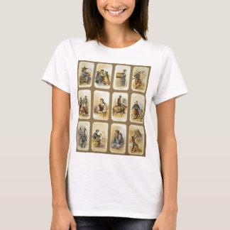 連合軍キャンプの日常生活内戦2 Tシャツ