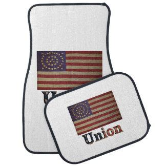 連合軍隊米国の内戦の旗 カーマット