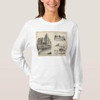 連合高等学校、住宅及びジャクソン郡銀行 Tシャツ
