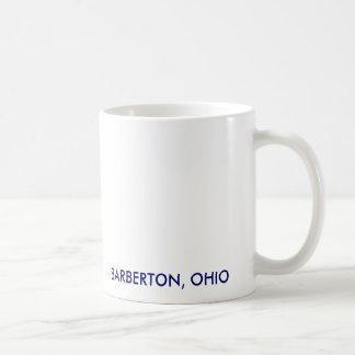連合、BARBERTON、オハイオ州 コーヒーマグカップ