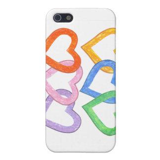 連結のハート iPhone 5 カバー