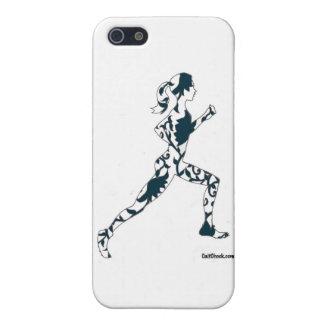 連続したシルエット-花柄 iPhone 5 CASE