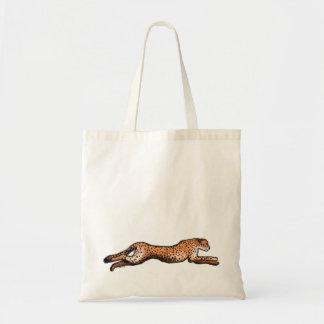 連続したチータの芸術のバッグ トートバッグ