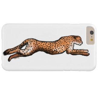 連続したチータの芸術のiPhoneの場合 Barely There iPhone 6 Plus ケース