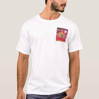 連続したハンバーガー Tシャツ
