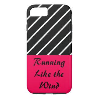 連続したローズピンクの体育館はトレーニングCricketDianeを遊ばします iPhone 8/7ケース