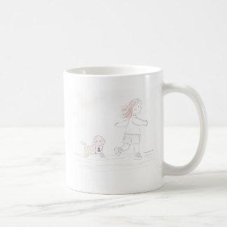 連続した女の子2 コーヒーマグカップ