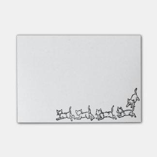 連続した猫のポスト・イット ポスト・イット®ノート
