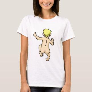 連続した露出した Tシャツ