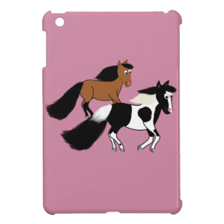 連続した馬 iPad MINI カバー