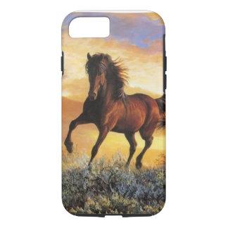 連続した馬 iPhone 8/7ケース