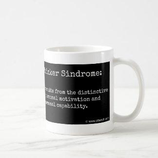 連続前向きな思想家のSindromeのコーヒー・マグ コーヒーマグカップ