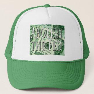 連邦準備制度の帽子の帽子を廃止して下さい キャップ