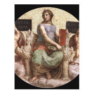 「連della Segnatura」のRaphaelからの哲学 ポストカード