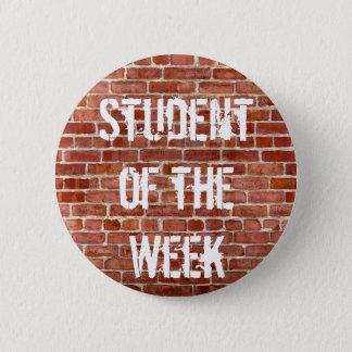 週の先生の学校ボタンの学生 5.7CM 丸型バッジ