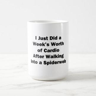 週の心臓の価値 コーヒーマグカップ