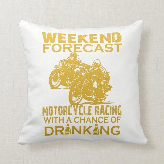 週末の予測のオートバイの競争 クッション