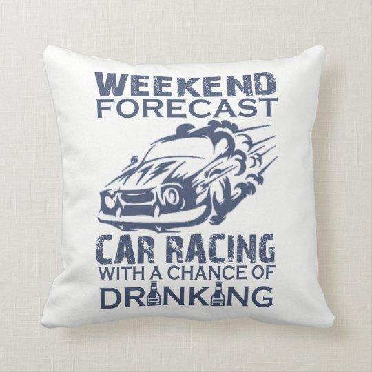 週末の予測のカーレース クッション