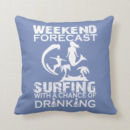 週末の予測のサーフィン クッション